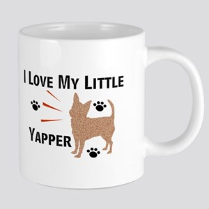 I Love My Little (chi) Yapper Mugs