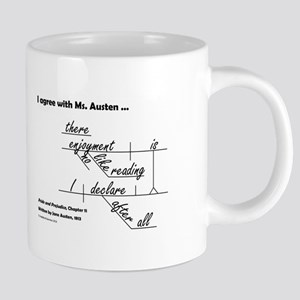 Enjoyment in Reading 20 oz Ceramic Mega Mug