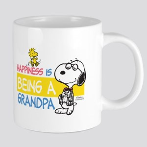 HappinessIsGrandpa 20 oz Ceramic Mega Mug