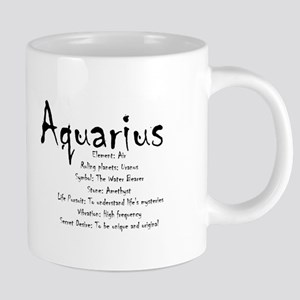 Aquarius Traits 20 oz Ceramic Mega Mug