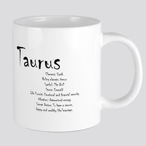 Taurus Traits 20 oz Ceramic Mega Mug