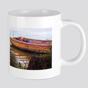 Fishing Boat 12 x 9 Mugs