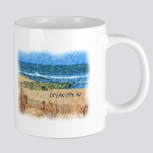 Ocean City NJ Beach Mugs