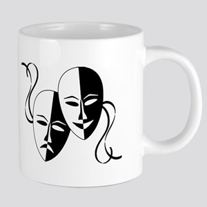 Theatre Masks for Theatre Lover 20 oz Ceramic Mega
