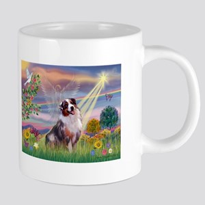 Cloud Angel / Aussie (bm) 20 oz Ceramic Mega Mug