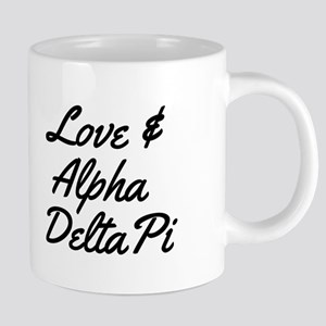 Alpha Delta Pi Love 20 oz Ceramic Mega Mug