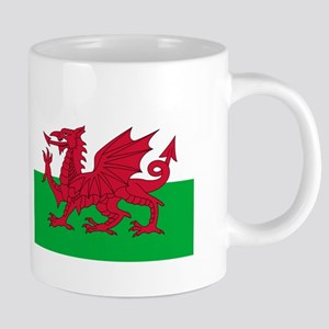 Welsh Flag of Wales 20 oz Ceramic Mega Mug