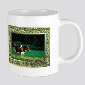 Llama Christmas Card 20 oz Ceramic Mega Mug