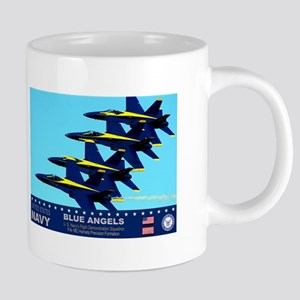 Blue Angels F-18 Hornet Mugs