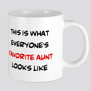 everyone's favorite aunt 20 oz Ceramic Mega Mug