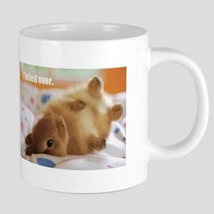 Cute bunny fell over Mugs