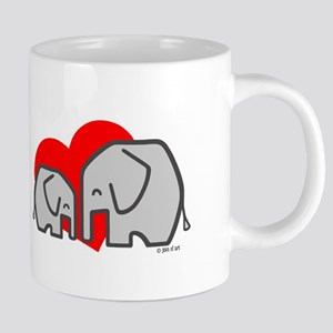 Elephants(3) 20 oz Ceramic Mega Mug