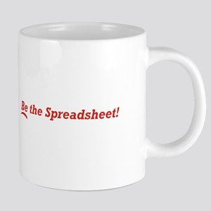 Be_The_Spreadsheet_21x14 20 oz Ceramic Mega Mug