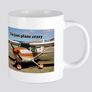 I'm just plane crazy: high wing Mugs