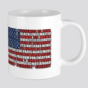 Political Protest American Flag Mugs