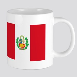 Flag of Peru 20 oz Ceramic Mega Mug