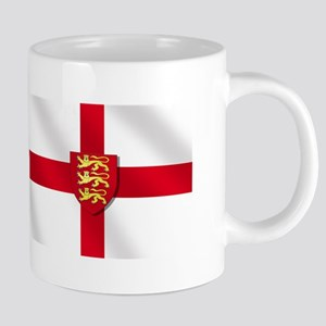 England Three Lions Flag 20 oz Ceramic Mega Mug