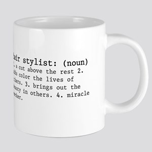 hair stylist definition 20 oz Ceramic Mega Mug