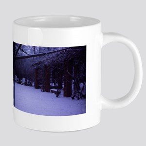 PICT0054 winter scene with snow and trees Mugs