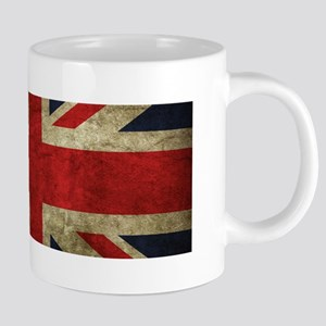 Grunge Flag Of England Mugs