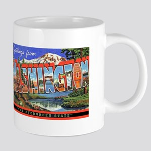 WashingtonState2 20 oz Ceramic Mega Mug