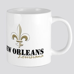 New Orleans Louisiana gold 20 oz Ceramic Mega Mug