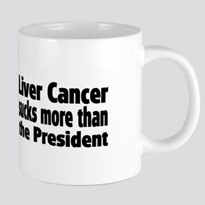 Liver Cancer 20 oz Ceramic Mega Mug