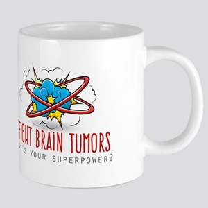 I Fight Brain Tumors 20 oz Ceramic Mega Mug