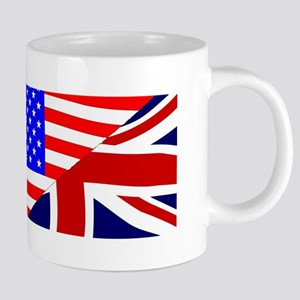 USA and UK Flags Mugs