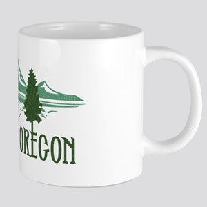 Bend Mountains & Tree 20 oz Ceramic Mega Mug
