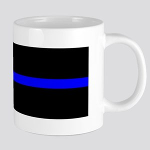 Thin Blue Line - USA United States American F Mugs