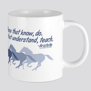 horses teach cup 20 oz Ceramic Mega Mug