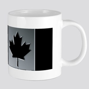 Canadian Flag Winter Camo Pattern Mugs