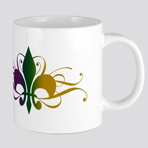fleur-de-lis-swirls_color 20 oz Ceramic Mega M