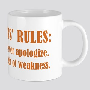 GIBBS' RULE #6 Mugs