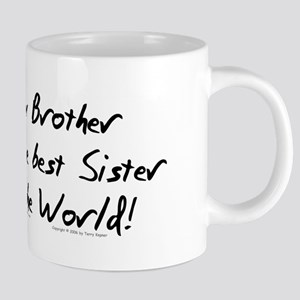 My Brother, Best Sister Mugs