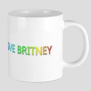 Peace Love Britney Ceramic Mega Mug