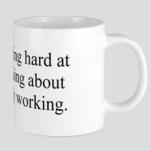 Working Hard 20 oz Ceramic Mega Mug