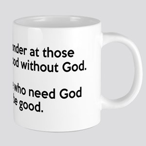 Good Without God Atheism Mugs