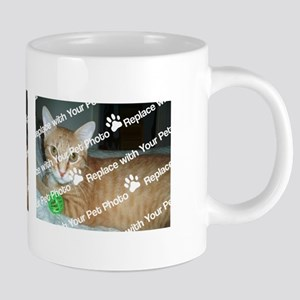 CUSTOMIZE Add 2 Photos 20 oz Ceramic Mega Mug