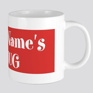 RED Personalized 20 oz Ceramic Mega Mug