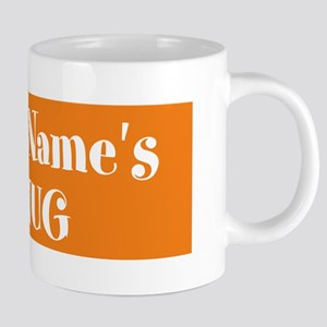 ORANGE Personalized 20 oz Ceramic Mega Mug