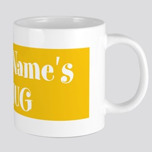 YELLOW Personalized 20 oz Ceramic Mega Mug