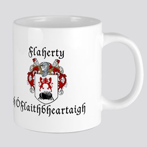 Flaherty In Irish & English Mugs