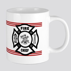Firefighter Fire Chief 20 oz Ceramic Mega Mug