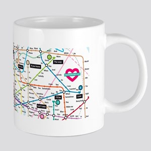 Love Map Mugs