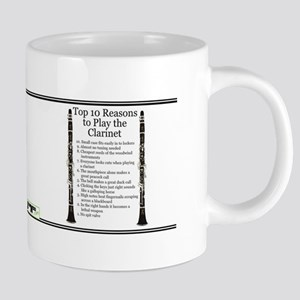 Clarinet Top 10 Mugs