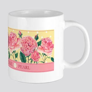 Birth Flowers and Gem Mug June Mugs