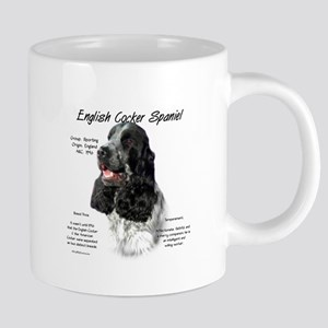 English Cocker (parti) 20 oz Ceramic Mega Mug