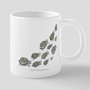 66138b91e5a Loggerhead Sea Turtle Drinkware - CafePress